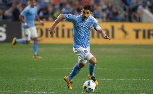 David Villa./Vincent Carchietta