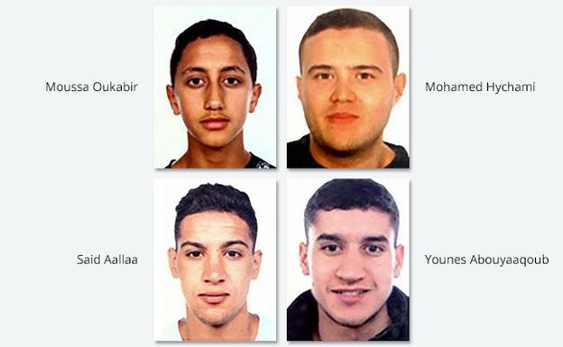 Los cuatro principales sospechosos para los Mossos d'Esquadra.