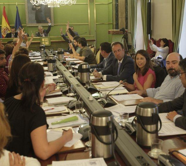 Una imagen de una sesión plenaria.