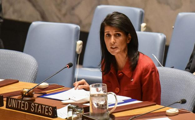 Nikki Haley, embajadora de Estados Unidos ante la ONU./Stephanie Keith (Reuters)