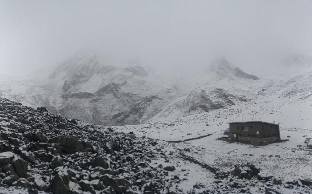 El tiempo se agita y deja las primeras nieves en asturias - El tiempo en siero asturias ...