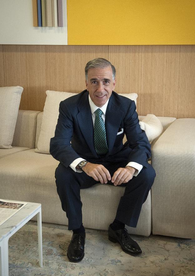 El presidente de Abengoa, Gonzalo Urquijo. / E. C.