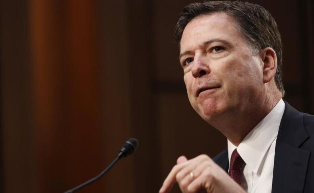 James Comey, exdirector del FBI.