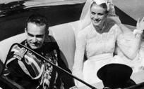 Boda de Grace Kelly y Rainiero