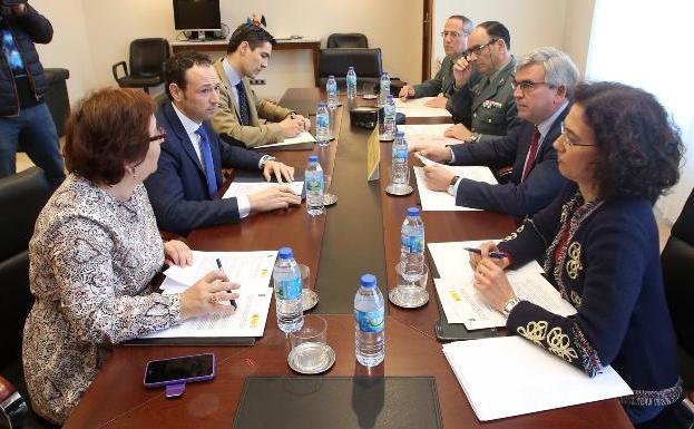 La Guardia Civil asume la custodia de los juzgados y pondrá más agentes