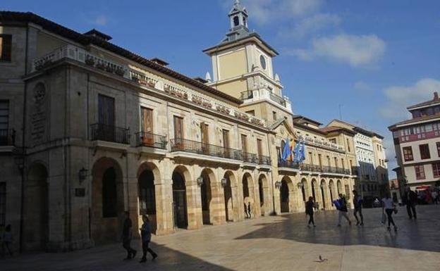 Ayuntamiento de Oviedo. /MARIO ROJAS