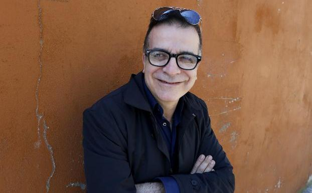 Marcello Fois se encuentra en Asturias para presentar su trilogía. / PALOMA UCHA