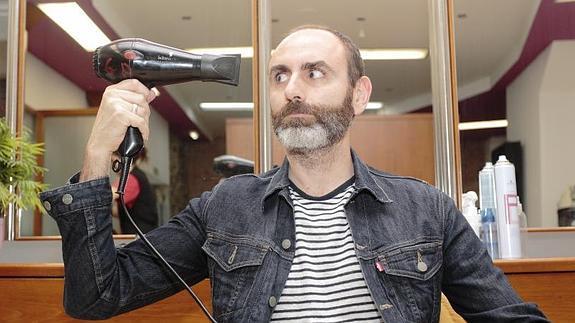 Juanma Pina, un gijonés de la pelu al estrellato