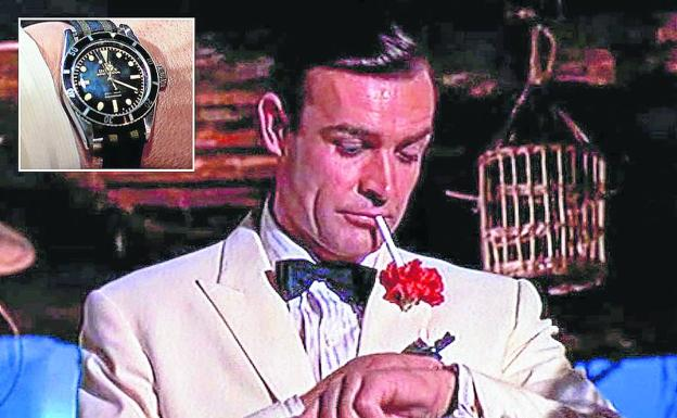 James Bond y su hora de puro lujo