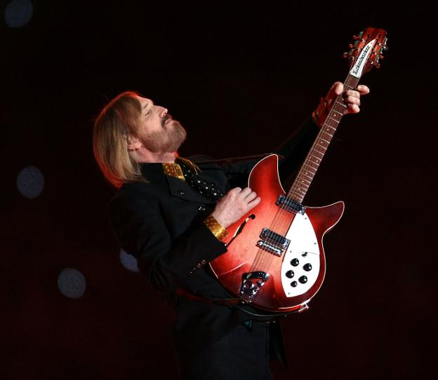 Tom Petty, durante un concierto. /  AFP