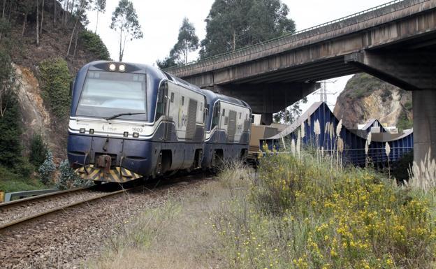 Dos averías en solo 48 horas en la línea de Feve entre Gijón y Candás