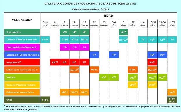 Calendario Vacunal Andalucia.Gobierno Y Comunidades Pactan Un Calendario Vacunal Para Toda La