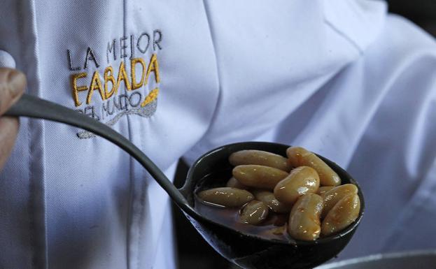 Fabada del restaurante Casa Chema, ganadora en 2011 y 2017. /Pablo Lorenzana