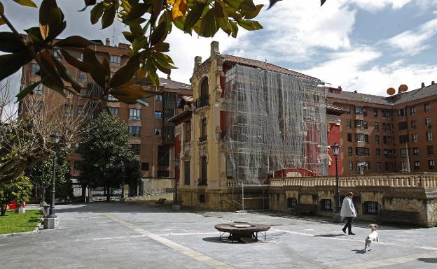 Resultado de imagen de Palacete Miñor, el comercio