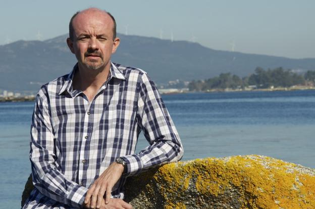 Carlos Hernández de Miguel, autor del libro. / LVA