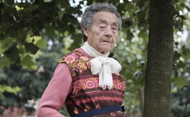 Predes Junquera solo pide «salud para el futuro». / C. SANTOS