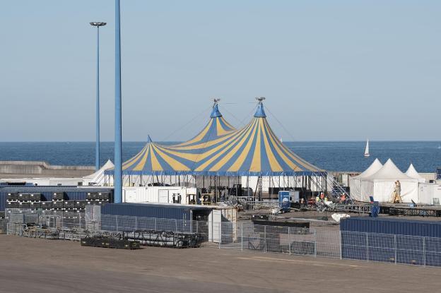 El Circo Del Sol Ya Está En Gijón El Comercio
