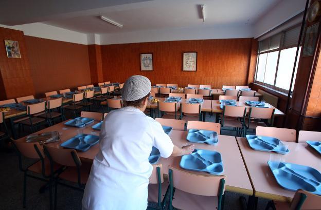 Los precios de los menús escolares se mantendrán este curso ...