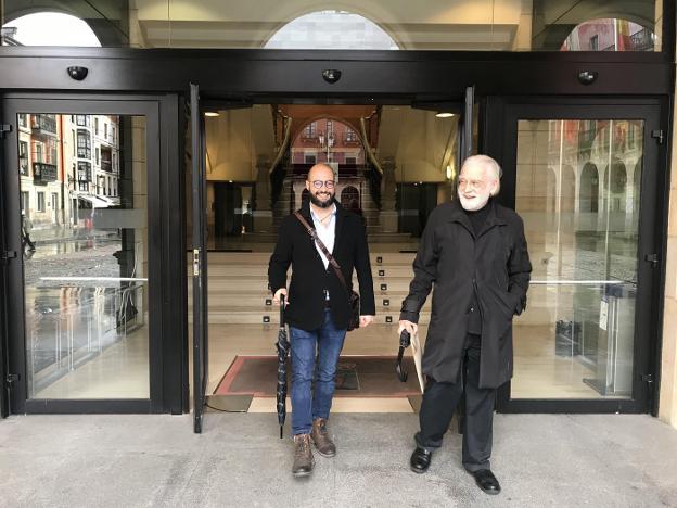 Héctor Gómez Navarro y Vicente Díez Faixat. / M. M.