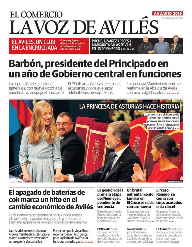 Mañana Martes 31 Con La Voz De Avilés El Anuario De 2019 El Comercio