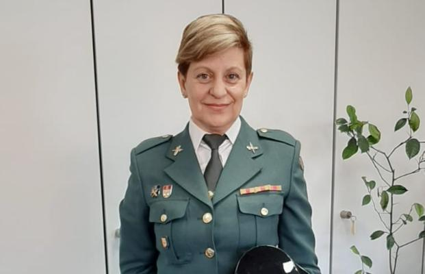 La agente de la Guardia Civil, Jerónima Vara. / E. C.