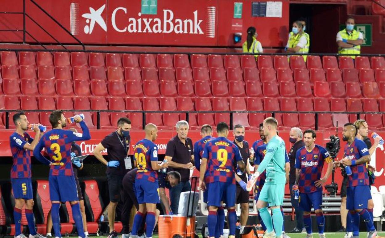 El Barça de Setién retrocede ante el Barça de Valverde | El Comercio