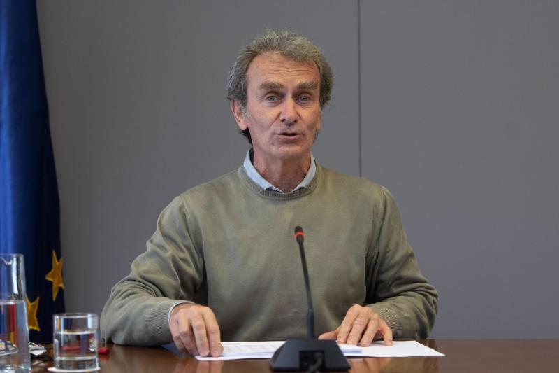 7-M. Fernando Simón pone fecha a la disminución de casos diarios de coronavirus
