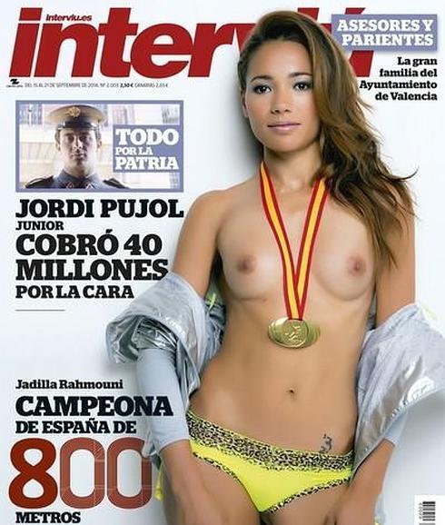 Interviú Desnuda A Jadilla Ramouhni Campeona De España De 800
