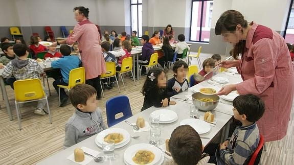 Las familias se unen a los catering para exigir más calidad en los ...